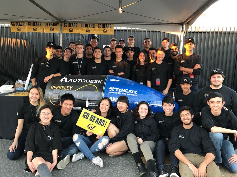 Berkeley Hyperloop team