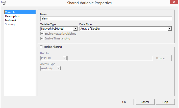 shared variable properties