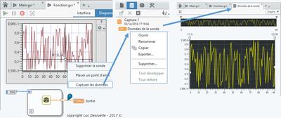 Capture et analyse des données de l'environnement LabVIEW NXG
