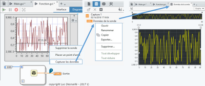 L'outil de capture des données de LabVIEW NXG