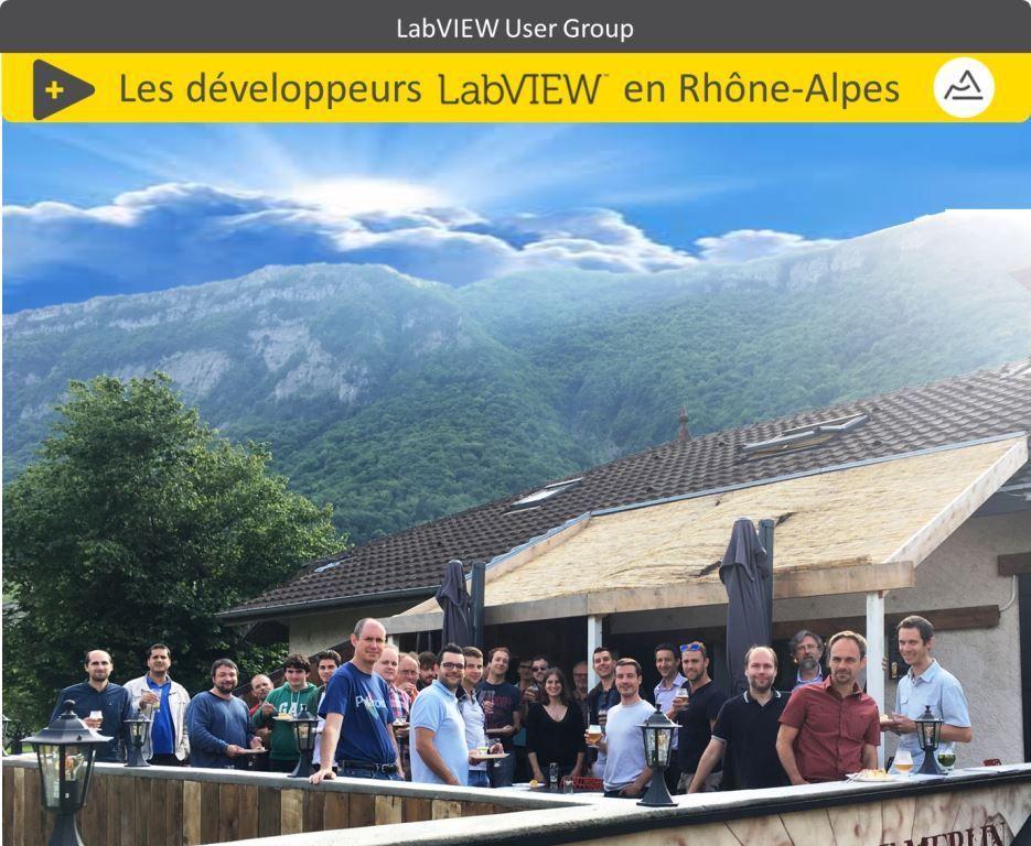 Le groupe des développeurs LabVIEW en Rhône-Alpes