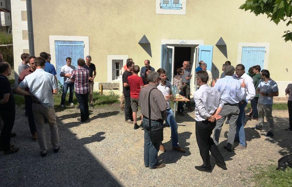 L'équipe des développeurs LabVIEW Rhône-Alpes : LUGE