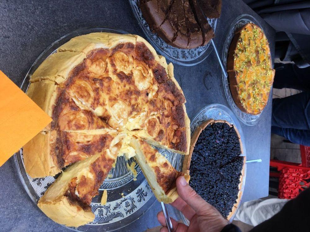 Le repas du soir offert par NI France
