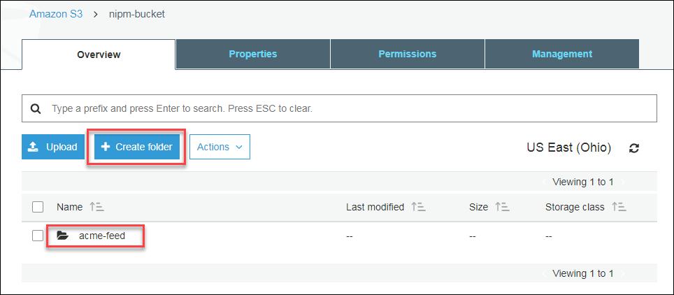 Amazon S3 - acme-feed folder - create folder.png
