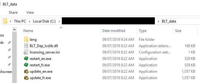 BLT_Data folder after build