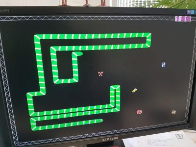 Snake on FPGA