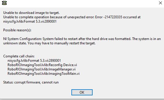foramt target error.PNG