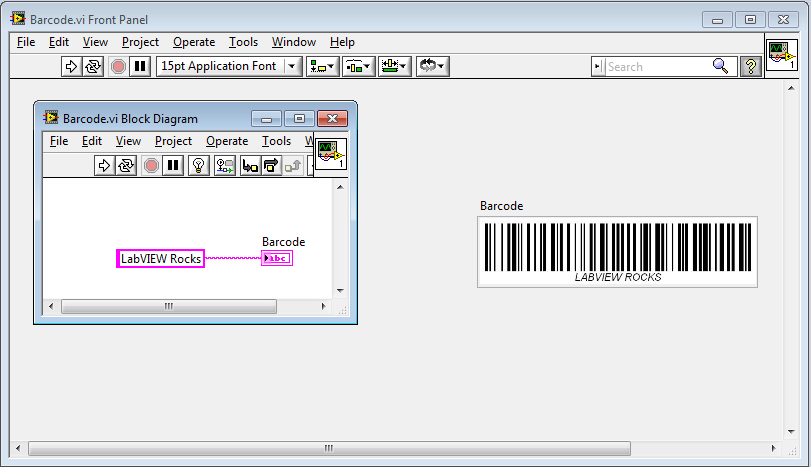 Generate Barcodes In Labview Discussion Forums