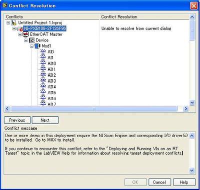 RT deployment error NI Scan Engine - NI Community - National