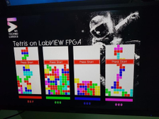 Tetris on LabVIEW FPGA