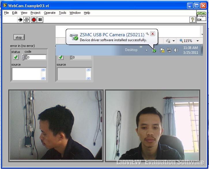 vimicro usb camera driver  windows 7