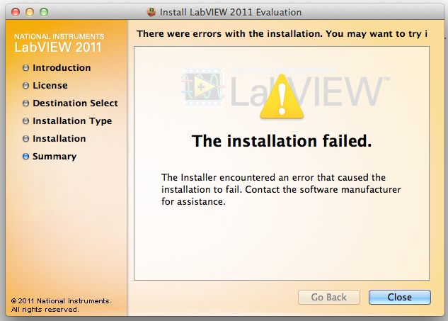 labview 2011 mac os x