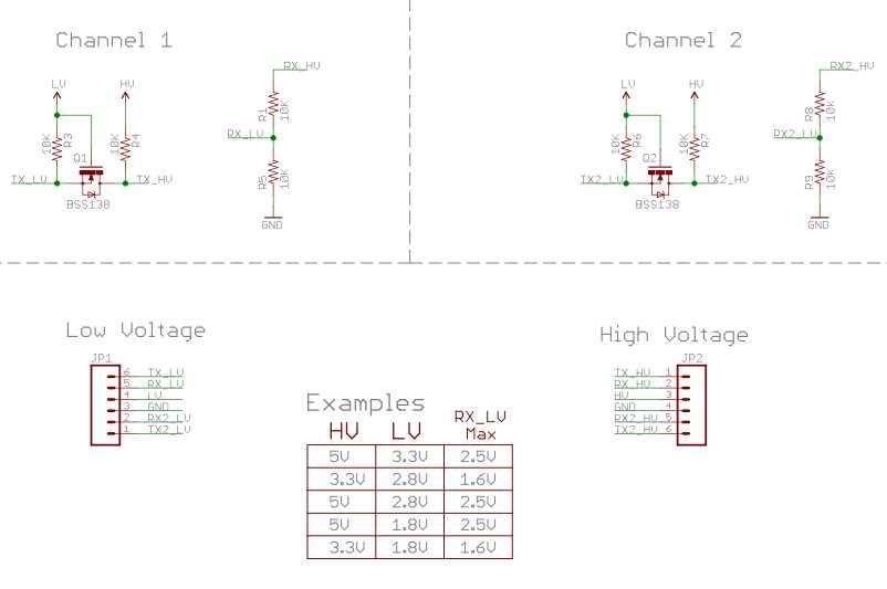 Logic Level Converter_Schematic