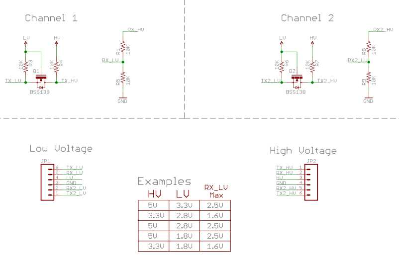 Logic Level Converter_Schematic