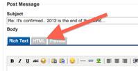 HTML-Tab-in-Editor