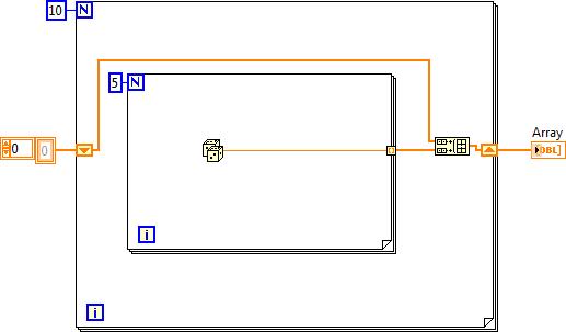 Concatenat 1D Array via shift register + Build_Array in For Loop.png