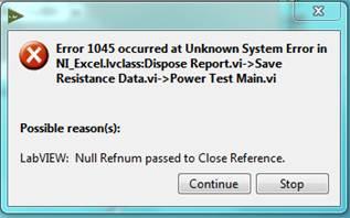 error 1044