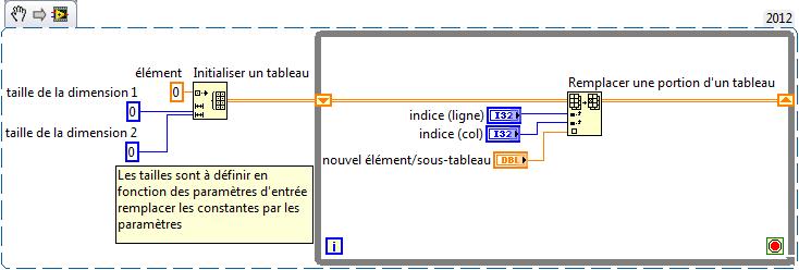 Resolu Enregistrement De Valeurs Dans Un Tableau 2d Ni Community