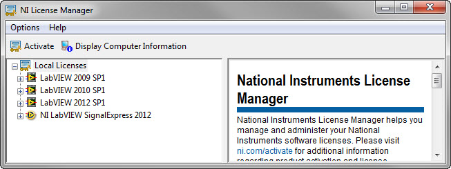 Solved: LM_LICENSE_FILE Conflicts - NI Community - National Instruments