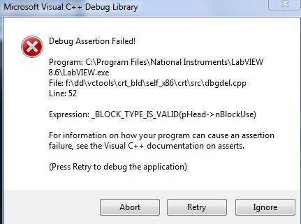 Solved: LabVIEW calling Visual Studio dll - error -