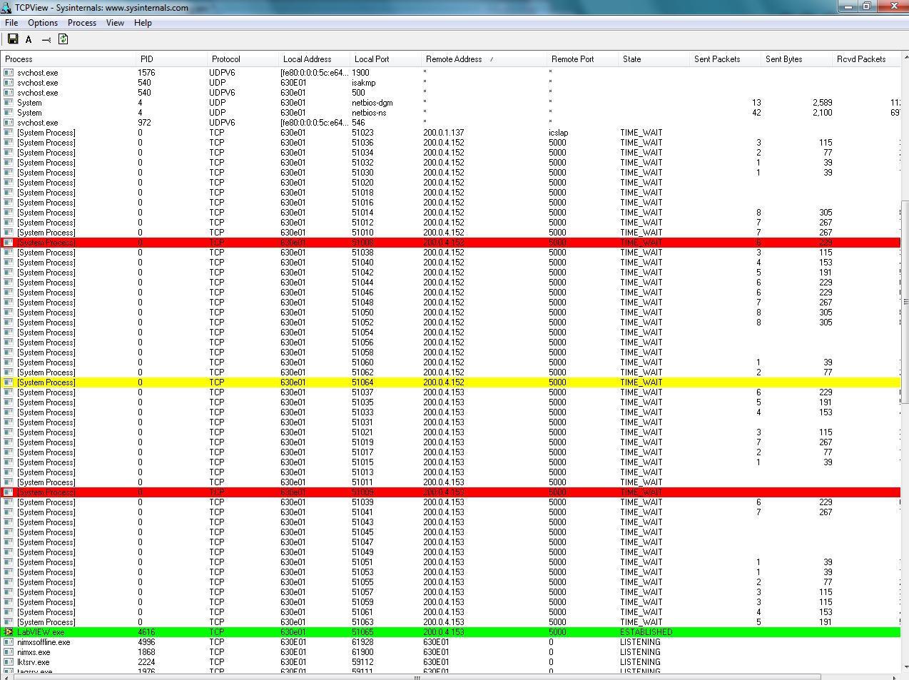 Omega TCP IP 66 error - eehelp com
