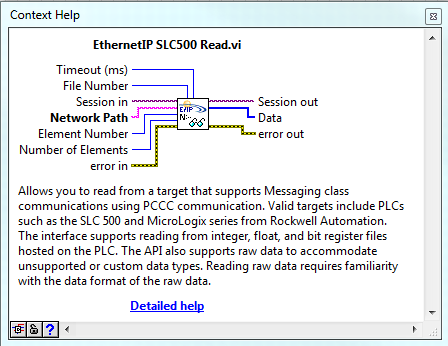 Micrologix 1400 Ethernet/IP invalid tag format error - NI Community