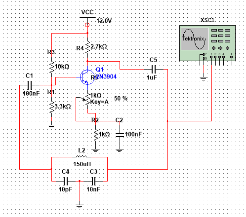 Solved Colpitts Oscillator Not Working Ni Community