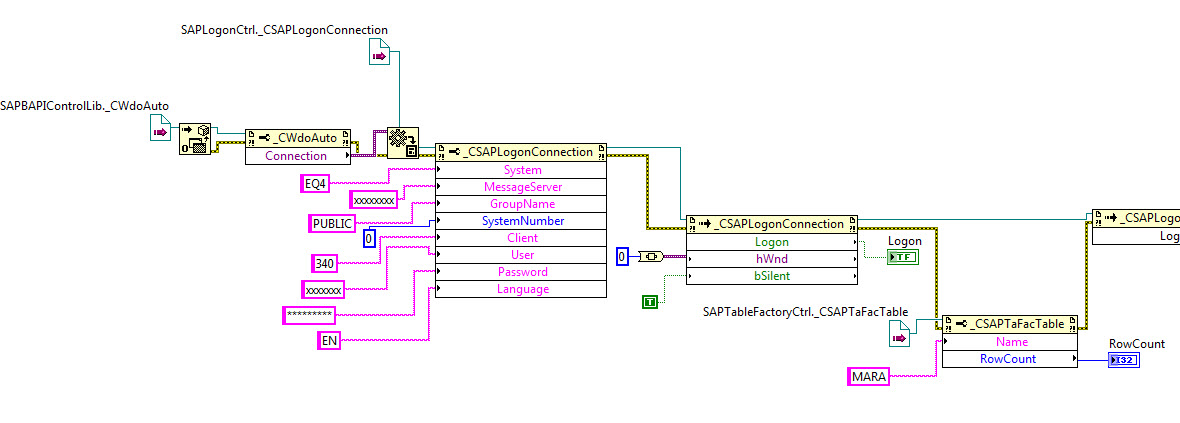LabVIEW SAP ActiveX Connection - NI Community - National