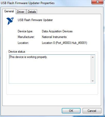 Solved: myDAQ recognized as USB flash firmware - NI