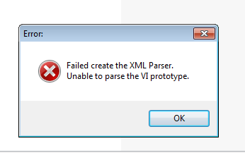 could not create the xml (NI TestStand 2010) parser - eehelp com