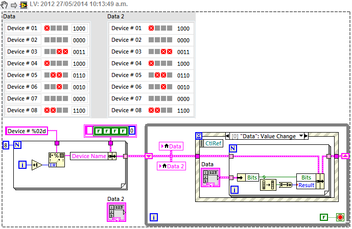 How to make editable Table in LabVIEW - NI Community