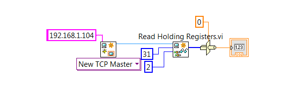 Solved: modbus read register to a floating point number - NI