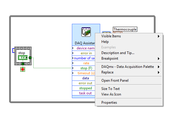Solved Daq Assist To Block Diagram Code Discussion Forums