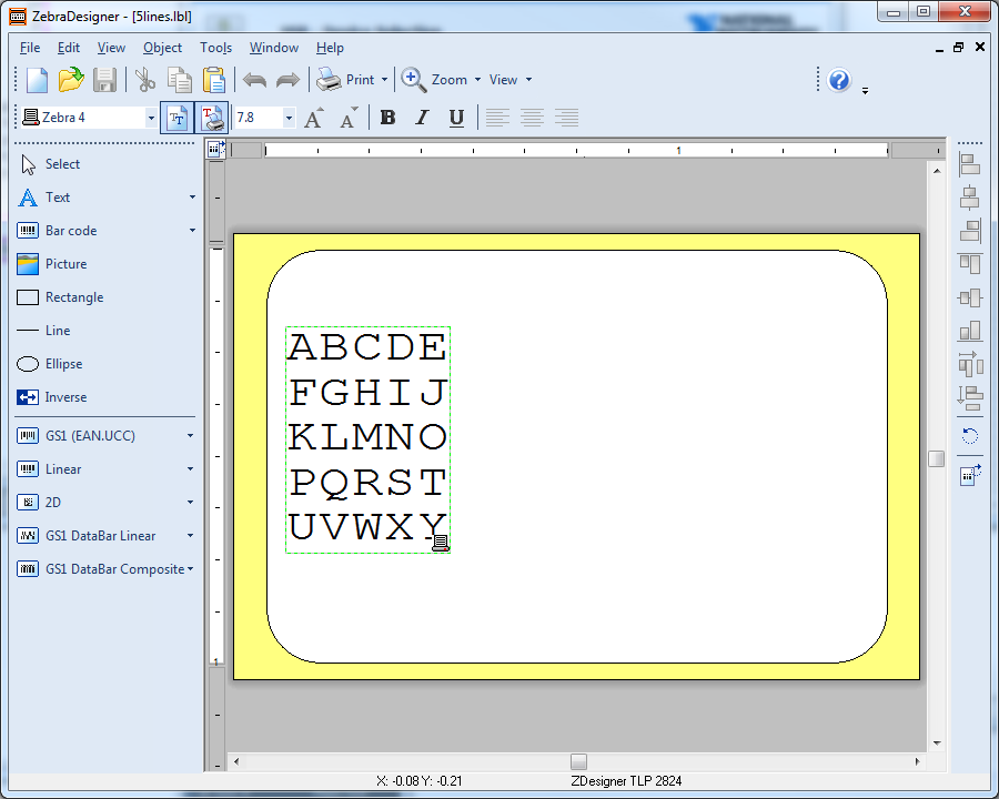 Zebra printer - Printing from LabVIEW using ZPL commands