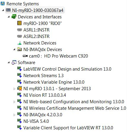 Why is my USB camera recognized in MAX but not in LabView