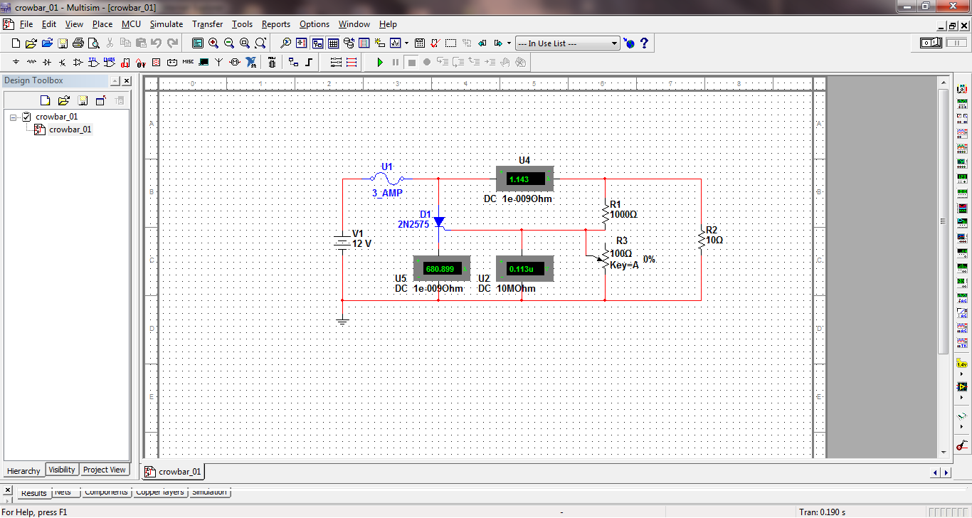 Crowbar Circuit Not Working Discussion Forums National Instruments How To Make Simple Scr Circuits 01