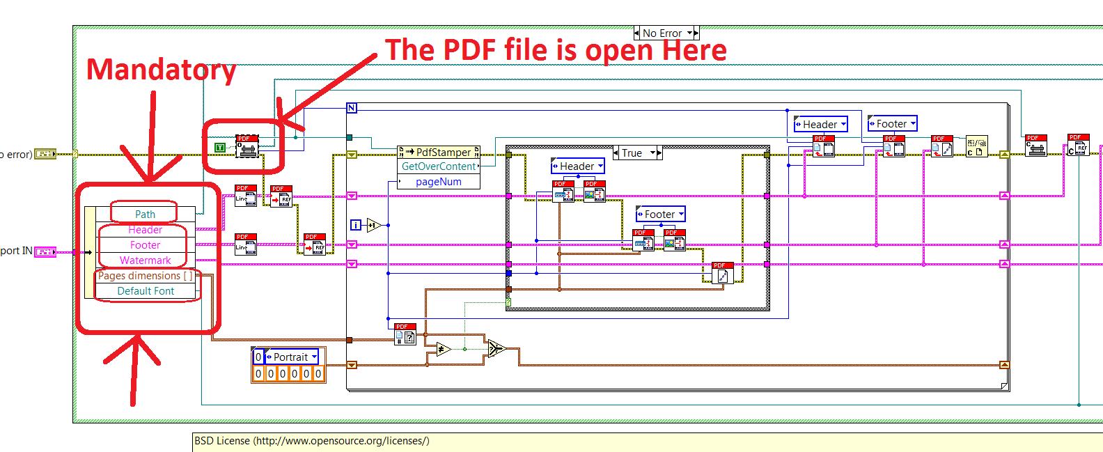 Concatenate PDF files with Exaprom iTextSharp - NI Community
