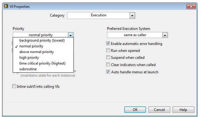 Solved  Priorit U00e9 Executable   - Ni Community