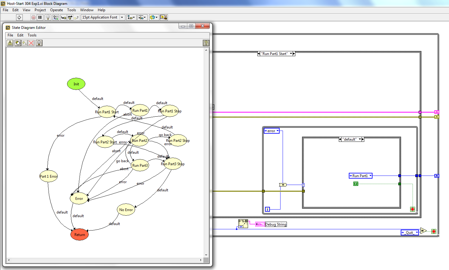 Solved Issue With State Diagram Toolkit 10 Upgrading From Lv 82 Where To Use Statechart Diagrams Editor Fix 2