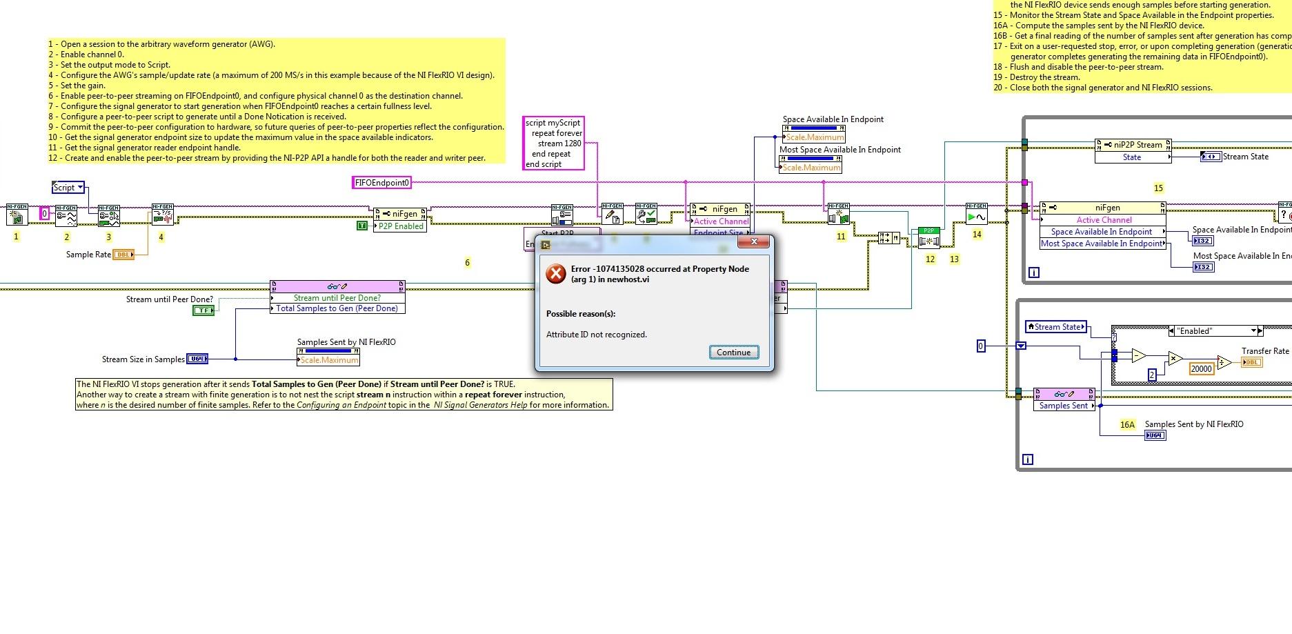 Peer to peer streaming SMU 1082 and FPGA 7976 - eehelp com