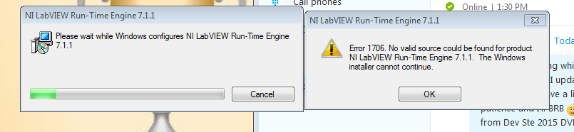 runtime labview 2012