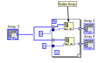 how to convert 2D arrays to 1D array - NI Community