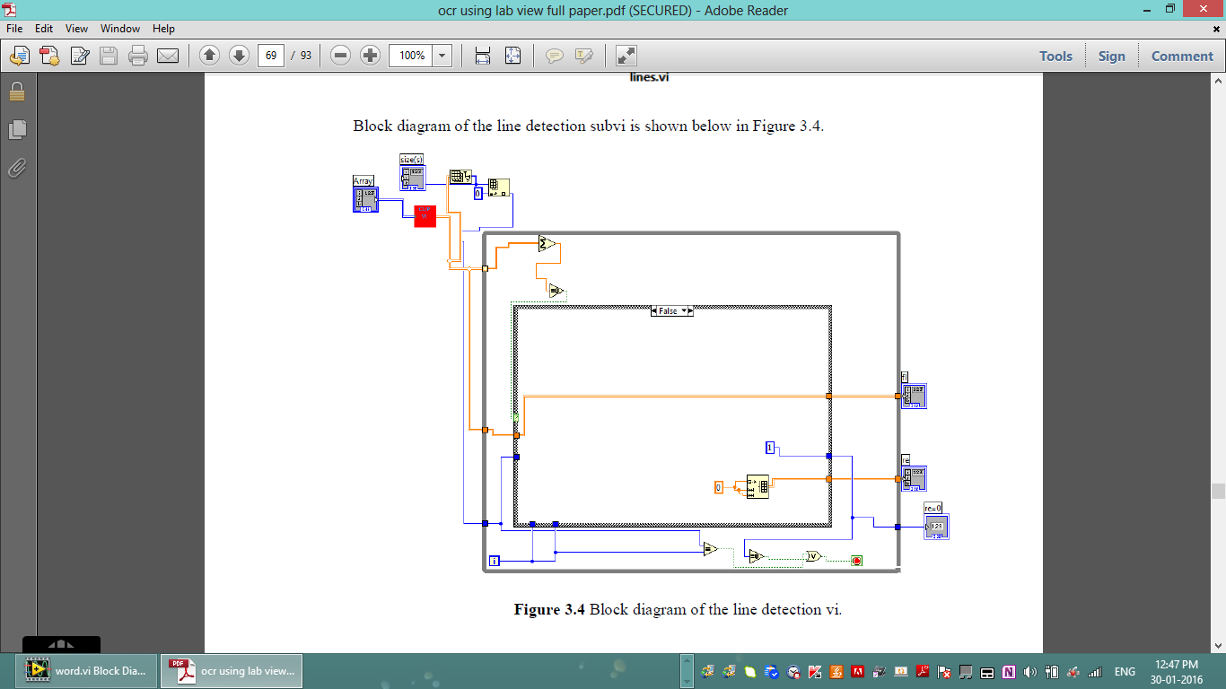 Please Help Me Out In Designing A Sub Vi For Line Segmentation Block Diagram Of Speech Recognition Procedures Screenshot 48