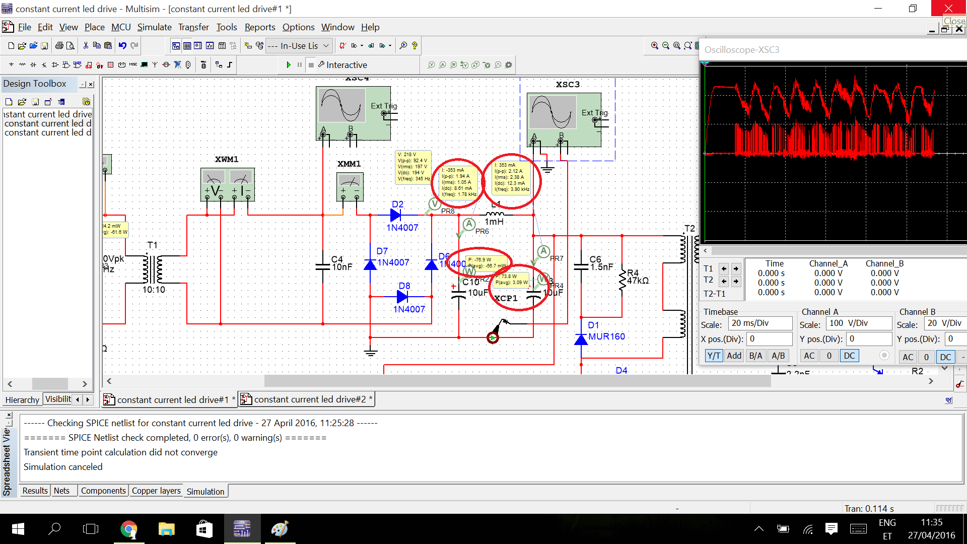 Ncp1028 Constant Current Led Driver Which Parts Of The Circuit To I Drives Two 3 Watt Ledselectronics Project Circuts 2