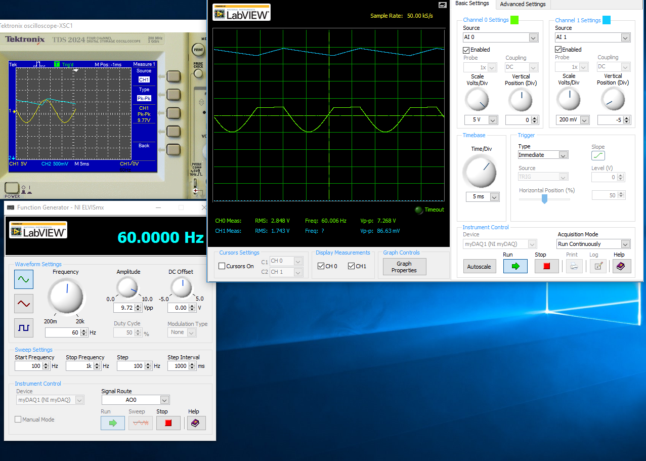 Solved Half Wave Rectified Filtered Circuit Oscilloscope The Main Limitation In Simulation Digichip Is That You Can I Think Issue How Have Analog Inputs And Agnd Wired Am Not Sure This Where Would Really Like Some Assistance Or Any Kind Of Help
