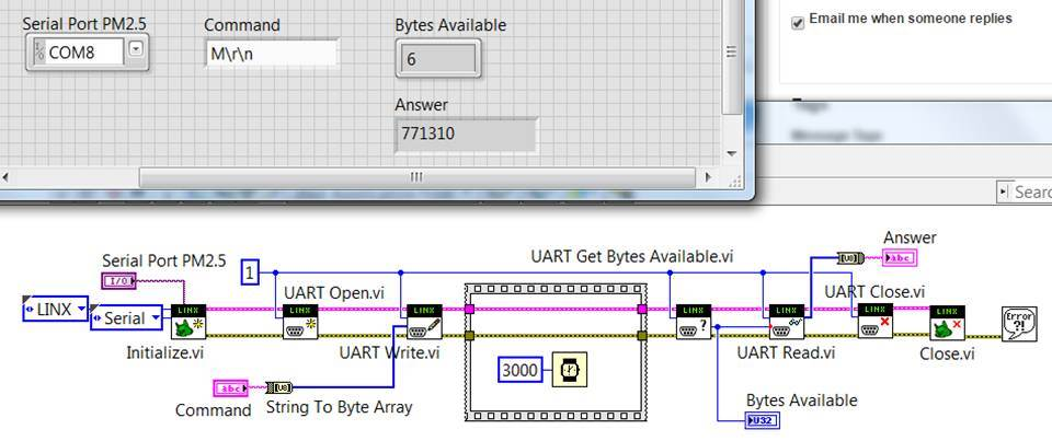 Arduino UART communication from LabVIEW - NI Community