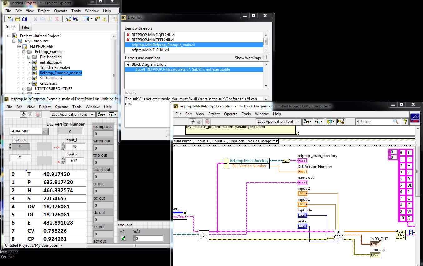 nist refprop software