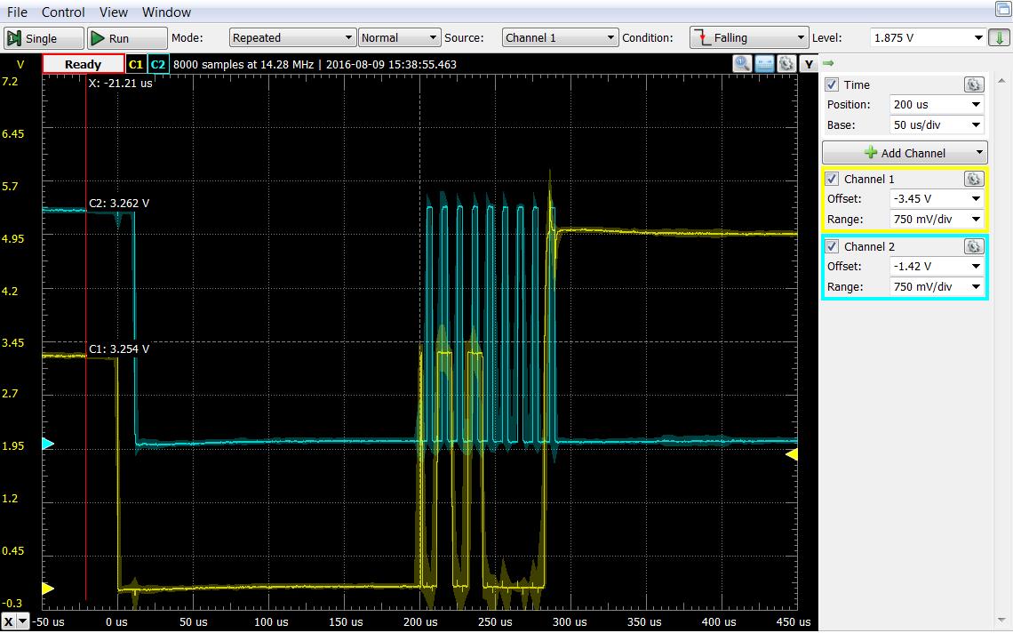 I2C communications using FTDI MPSSE Cable and TE Pressure