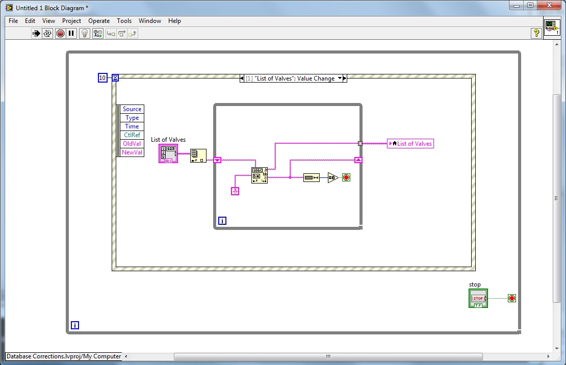 Paste From Excel To Labview Arrays Discussion Forums National H 263 Block Diagram Pasting An Array
