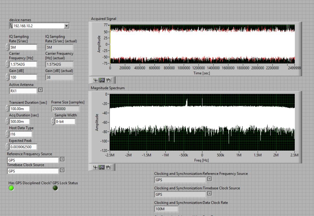 Configuring Ettus USRP B200 on LabVIEW Windows - NI
